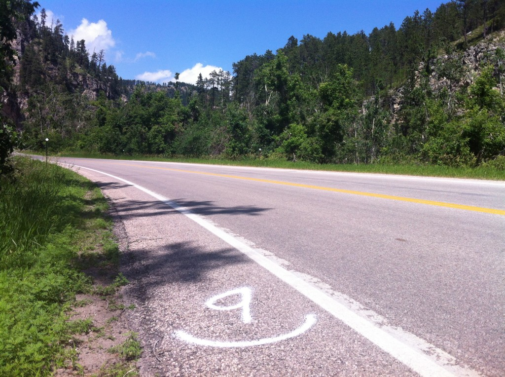 This may be the most scenic road race in South Dakota, start to finish there is a great view!