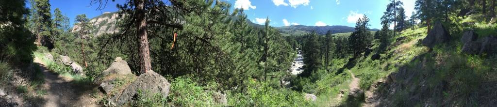 Tongue River Canyon.