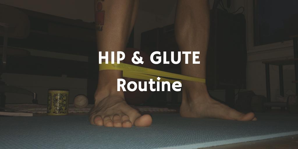 My favorite hip & glute routine